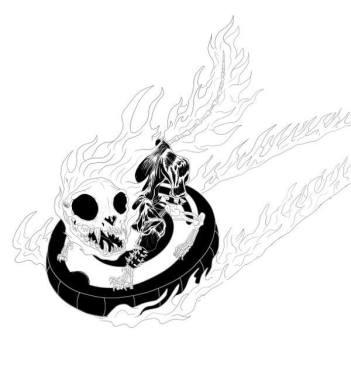 Ghost Rider Cat